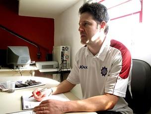 Argel, técnico do Caxias (Foto: Cahê Mota / GLOBOESPORTE.COM)