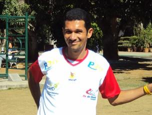 Corrida lesão Fabiano (Foto: Arquivo pessoal)