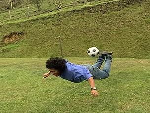 higuita esporte espetacular (Foto: Reprodução/TV Globo)