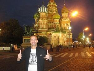 Diego Tardelli na Russia (Foto: Rafael Maranhão/Globoesporte.com)
