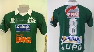 Novo uniforme do Icasa (Foto: Divulgação/Icasa)