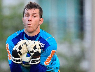 Paulo Victor treino Flamengo (Foto: Ricardo Ramos / AGIF)