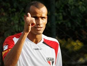 rivaldo são paulo treino (Foto: Rahel Patrasso / Agência Estado)