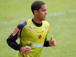 Romulo no treino do Vasco (Foto: Mauricio Val/Fotocom.net)