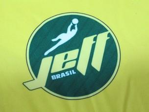 Linha de produtos JeffBrasil Jefferson Botafogo (Foto: Thiago Fernandes/Globoesporte.com)