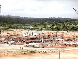 obras na Arena Pernambuco para a Copa (Foto: Divulgação / Site Oficial)