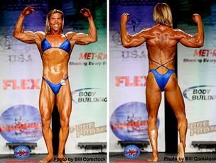 fisiculturista Christina Bruce transexual (Foto: Reprodução Bill Comstock)