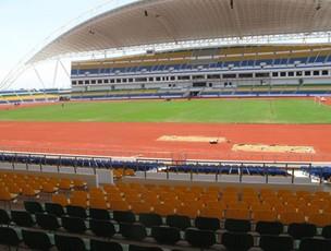 estádio libreville (Foto: Márcio Iannacca/Globoesporte.com)
