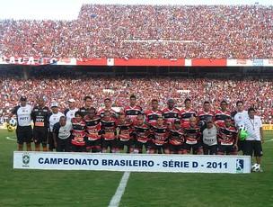 Santa Cruz na final da Série D do Brasileiro 2011 (Foto: Antônio Carneiro)