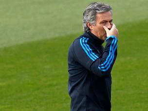 josé mourinho real madrid treino (Foto: Agência Reuters)
