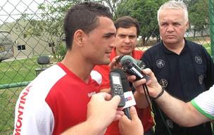 Gilberto do Internacional (Foto: Fabio Leme / Globoesporte.com)