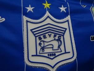 Sociedade Esportiva Ypiranga Futebol Clube, nome grande como as pretensões do clube em 2012 (Foto: Elton de Castro/Globoesporte.com)
