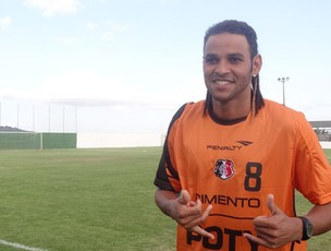 Denis Marques - Santa Cruz (Foto: Terni Castro/Globoesporte.com)