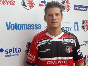 Diego Gaúcho - Santa Cruz (Foto: Terni Castro/Globoesporte.com)
