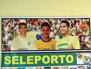 Porto-PE - seleção brasileira (Foto: Tiago Medeiros / GloboEsporte.com)