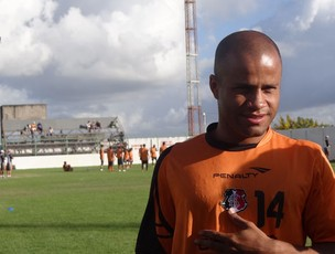 Anderson Pedra - Santa Cruz (Foto: Terni Castro/Globoesporte.com)