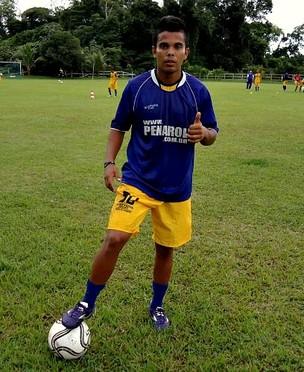 Cadhé jogador do Penarol (Foto: Divulgação/Penarol)