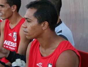Bibi, atacante do River Plate-SE (Foto: Felipe Martins/GLOBOESPORTE.COM)