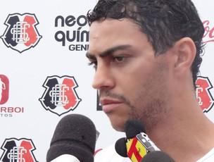 André Oliveira - Santa Cruz (Foto: Terni Castro/Globoesporte.com)