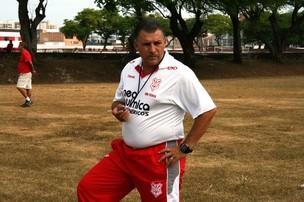 Zé Humberto - Técnico do Sergipe (Foto: Felipe Martins/GLOBOESPORTE.COM)