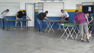 Futebol de Mesa em Manaus (Foto: Divulgação)