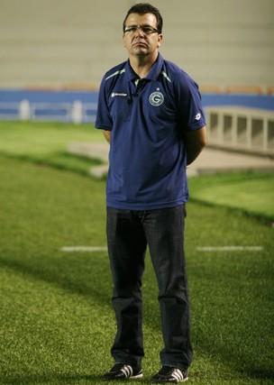 Enderson Moreira, técnico do Goiás (Foto: Rosiron Rodrigues/Goiás E.C.)