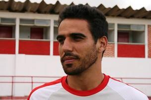 Renan, atacante do Sergipe  (Foto: Felipe Martins/GLOBOESPORTE.COM)