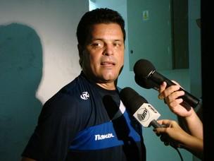 Paulinho McLaren, técnico do Rio Claro (Foto: Divulgação (Site Oficial do Rio Claro))