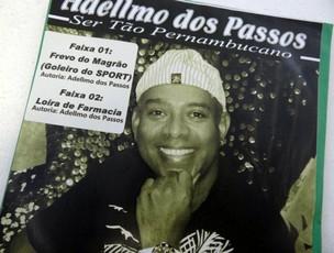 Adelmo dos Passos, autor de frevo para Magrão, do Sport (Foto: Lula Moraes / GloboEsporte.com)