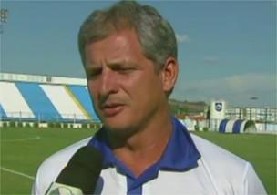 Fahel Júnior, técnico do Rio Claro (Foto: Reprodução EPTV)