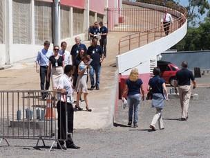 Vistoria da Fifa no Beira-Rio (Foto: Diego Guichard/Globoesporte.com)
