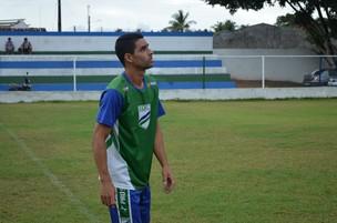 O atacante Nivaldo é o artilheiro da equipe (Foto: Felipe Martins/GLOBOESPORTE.COM)