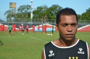 Bibi é o único atacante titular que possui condições de jogo (Foto: Felipe Martins/GLOBOESPORTE.COM)