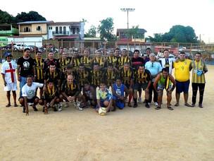 Vila Nova campeão do Futebol Master da LMD do Aleixo de 2011==16-03-2012 (Foto: LMD do Aleixo/Divulgação)