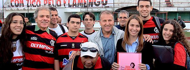 Zico Patricia Amorim Flamengo