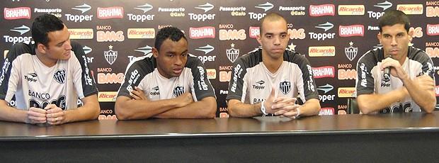 Obina Diego Tardelli Ricardinho Atlético-MG