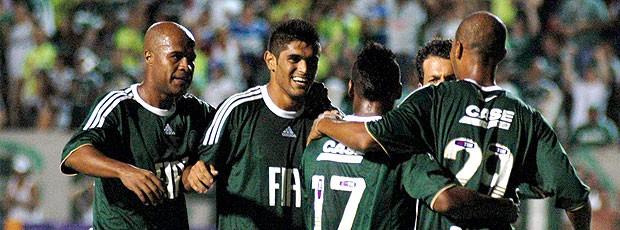 Palmeiras comemora vitória sobre o Ituano
