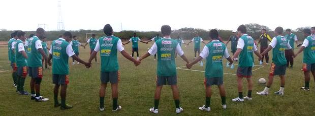 treino do Baraúnas (Foto: Carlos Guerra Júnior / Divulgação)