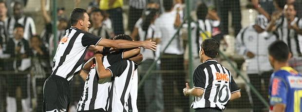 comemoração gol Atlético-MG (Foto: Ag. Estado)