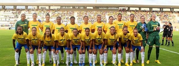 AMISTOSO BRASIL X CHILE - futebol FEMININO (Foto: Rafael Ribeiro / CBF)