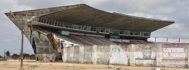 Estádio Almeidão (Foto: Alberi Pontes / Jornal da Paraíba)