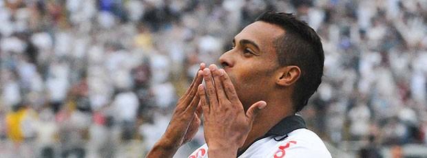 Elton gol Corinthians (Foto: Ag. Estado)