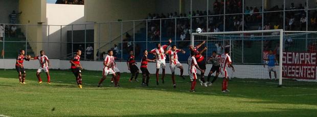 Auto Esporte 1 x 1 Campinense, na Graça (7ª rodada do Paraibano) (Foto: Renata Vasconcellos)