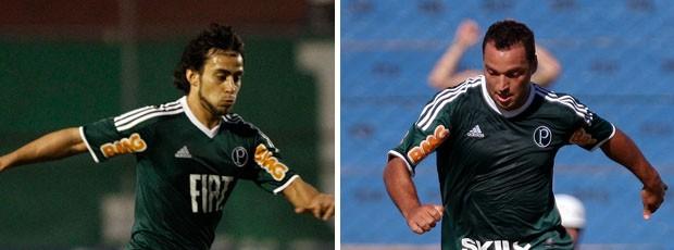 Daniel Carvalho e Valdivia (Foto: Editoria de Arte / Globoesporte.com)