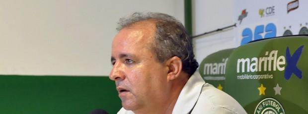 Oswaldo Alvarez, o Vadão, técnico do Guarani (Foto: Rodrigo Villalba / Memory Press)