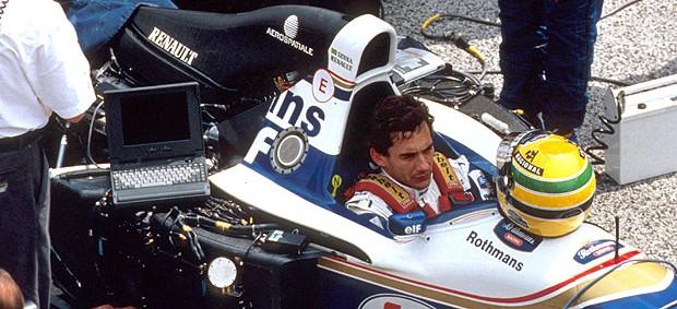 Ayrton Senna GP de San Marino de 1994  (Foto: Divulgação)