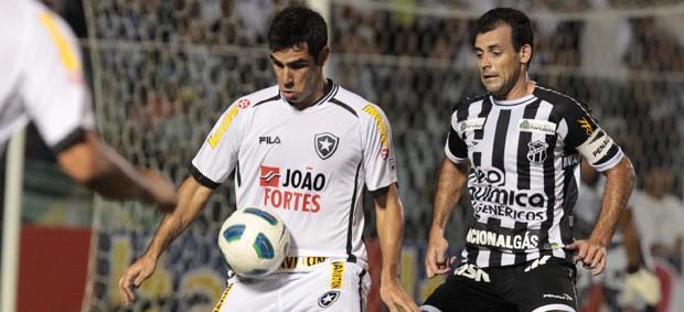 Ceará e Botafogo empatam em 2 a 2 (Agência Estado)