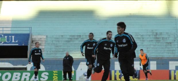 Formação tática do Grêmio (Foto: Eduardo Cecconi/Globoesporte.com)