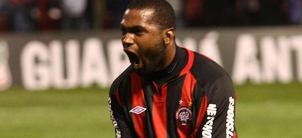 morro garcia atlético-pr gol botafogo (Foto: Franklin de Freitas / Agência Estado)