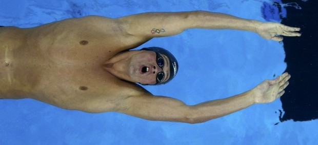 Ryan Lochte 200m costas Mundial de Xangai natação (Foto: Reuters)